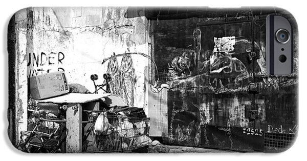 Blight iPhone Cases - Urban Decay in Jaffa iPhone Case by John Rizzuto