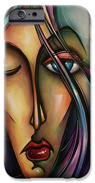 Urban Design iPhone Case by Michael Lang