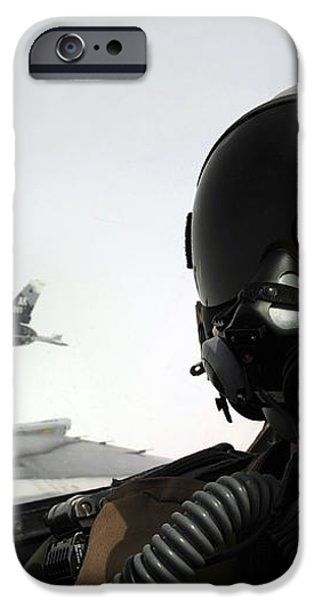 U.s. Air Force Pilot Takes iPhone Case by Stocktrek Images