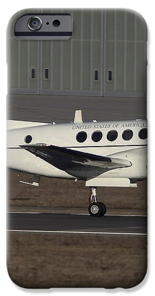 U.s. Army C-12 Huron Liaison Aircraft iPhone Case by Timm Ziegenthaler