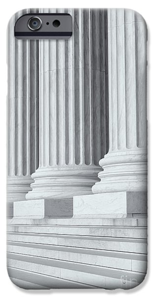US Supreme Court Building IV iPhone Case by Clarence Holmes
