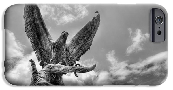 Hattiesburg iPhone Cases - USM Golden Eagles iPhone Case by JC Findley