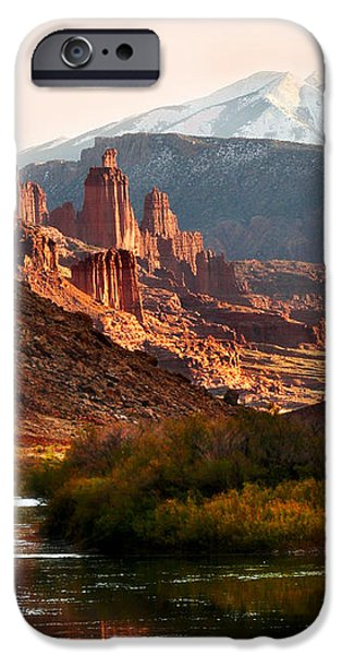 Utah Colorado River iPhone Case by Marilyn Hunt