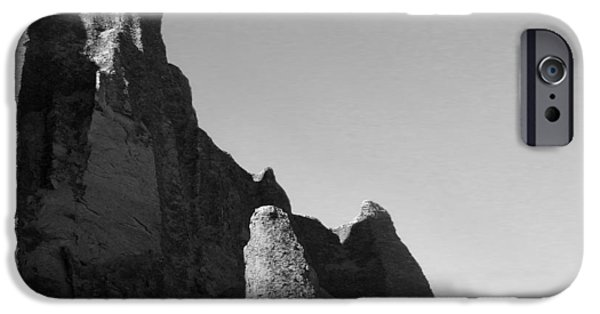 Surreal Landscape Digital iPhone Cases - Utah Outback 32 iPhone Case by Mike McGlothlen