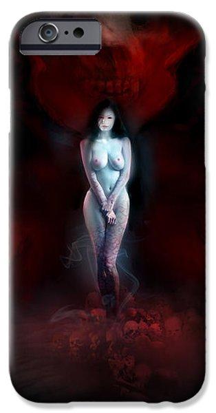 Utherworlds Adezonaz iPhone Case by Philip Straub