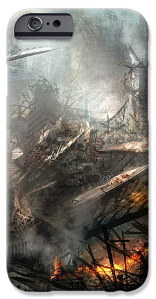 Utherworlds Ashes iPhone Case by Philip Straub