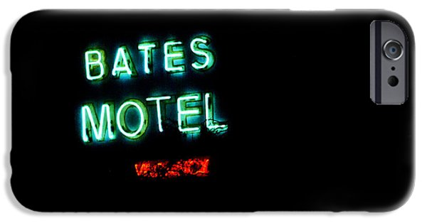 Films By Alfred Hitchcock iPhone Cases - Vacancy at Bates Motel iPhone Case by Denise Dube