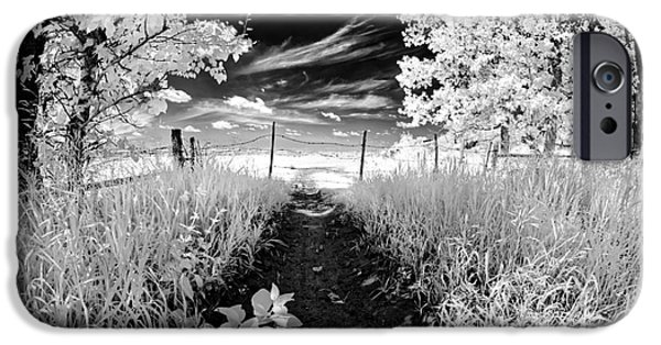 Infrared iPhone Cases - Valley of Light iPhone Case by Dan Jurak