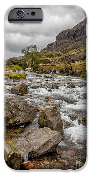 River iPhone Cases - Valley Stream iPhone Case by Adrian Evans