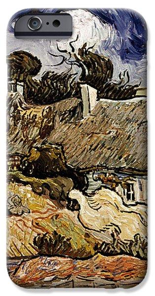 VAN GOGH: CORDEVILLE, 1890 iPhone Case by Granger