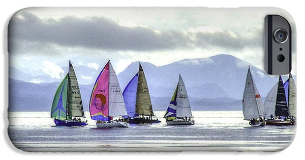 Port Hardy iPhone Cases - Van Isle 360 1 iPhone Case by Larry Kohlruss