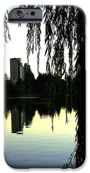 Vancouver- Lost Lagoon iPhone Case by Will Borden