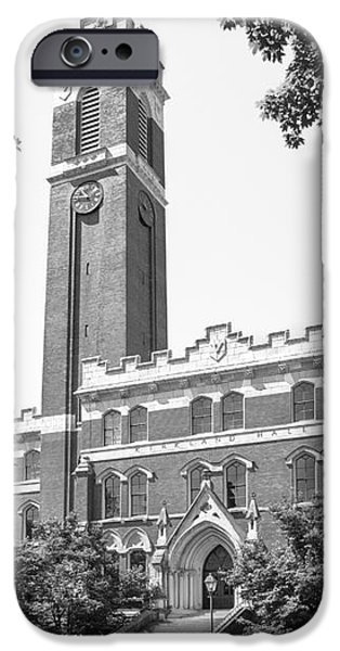 Vanderbilt University Kirkland Hall iPhone Case by University Icons