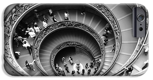 Freedom iPhone Cases - Vatican BW iPhone Case by Stefano Senise