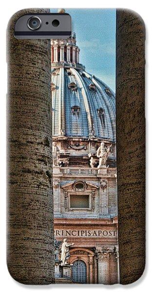 Vatican iPhone Case by Tom Prendergast