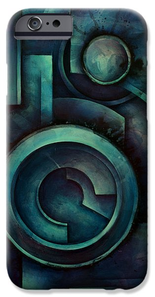 Geometric Design iPhone Cases - Vault iPhone Case by Michael Lang