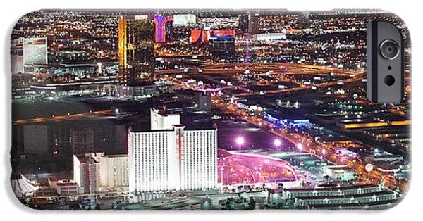 Virtual iPhone Cases - Vegas Southwest iPhone Case by Scott Perkins
