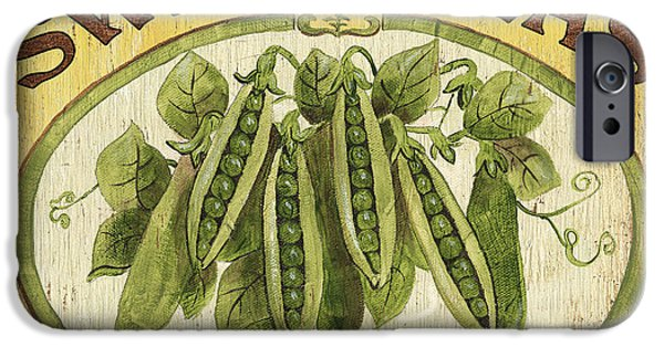 Plant iPhone Cases - Veggie Seed Pack 1 iPhone Case by Debbie DeWitt