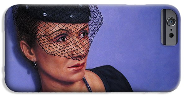 Veiled iPhone Cases - Veiled iPhone Case by James W Johnson