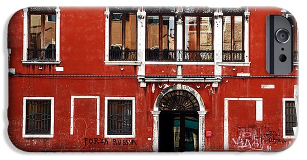 Venetian Doors iPhone Cases - Venetian Architecture iPhone Case by John Rizzuto