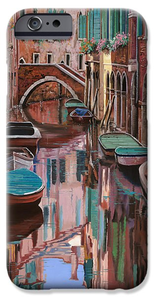 Venice iPhone Cases - Venezia a colori iPhone Case by Guido Borelli