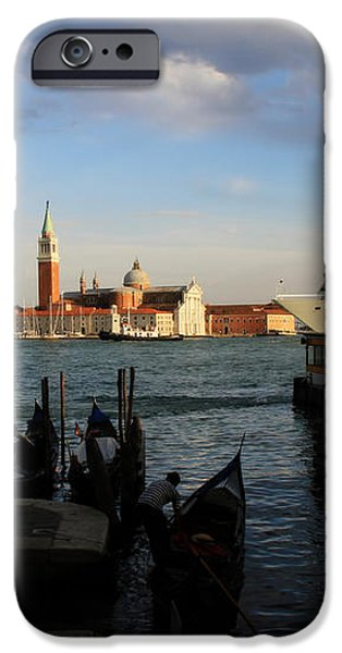 Venice Cruise Ship iPhone Case by Andrew Fare