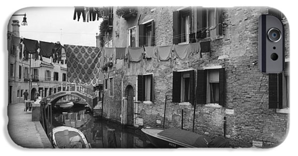 The White House Photographs iPhone Cases - Venice iPhone Case by Frank Tschakert