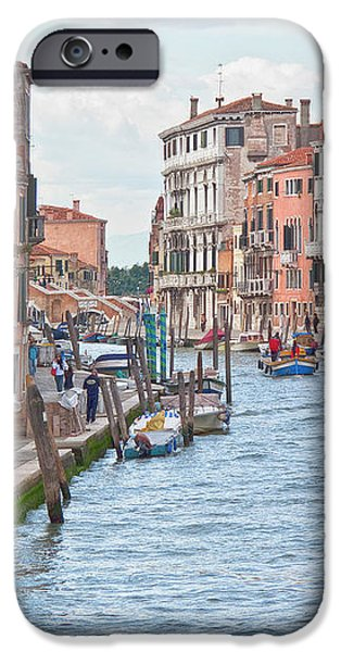 Venice in pastel  iPhone Case by Heiko Koehrer-Wagner