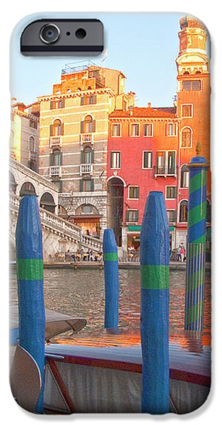 Venice Rialto Bridge iPhone Case by Heiko Koehrer-Wagner
