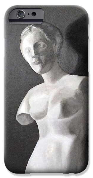 Michael Angelo iPhone Cases - Venus Cast Study iPhone Case by Stevie Stefano