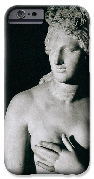 Nudes Photographs iPhone Cases - Venus Pudica  iPhone Case by Unknown