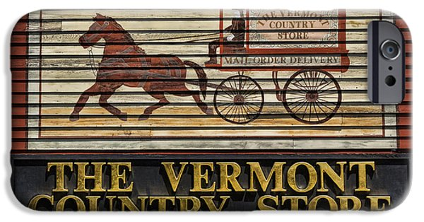 The Horse iPhone Cases - Vermont Country Store iPhone Case by Stephen Stookey