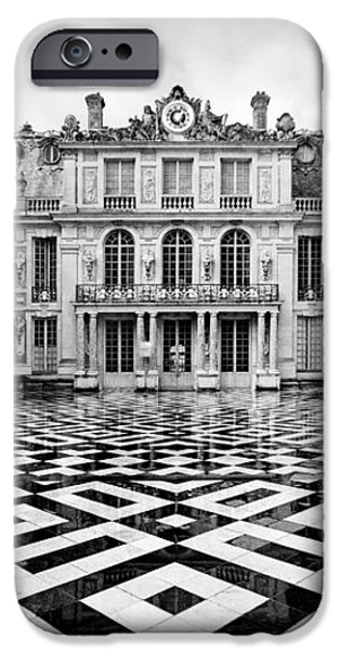 Versailles architecture Paris iPhone Case by Pierre Leclerc Photography
