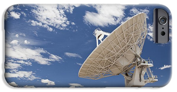 Antenna iPhone Cases - Very Large Array Antenna iPhone Case by Bryan Mullennix