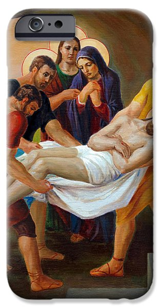 Jesus iPhone Cases - Via Dolorosa. The Way Of The Cross. 14 iPhone Case by Svitozar Nenyuk