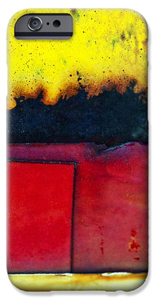 Vibrant Wall Colors iPhone Case by Ray Laskowitz - Printscapes