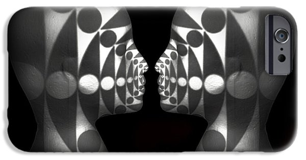 Intrigue iPhone Cases - Vibrating Forms iPhone Case by Jeff  Gettis