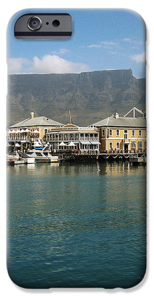 Victoria and Alfred Waterfront iPhone Case by Oliver Johnston