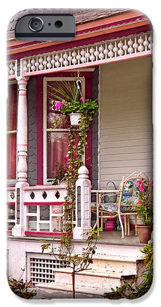 Victorian - Belvidere NJ - The beauty of Spring  iPhone Case by Mike Savad