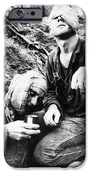 VIETNAM WAR MEDIC 1966 iPhone Case by Granger