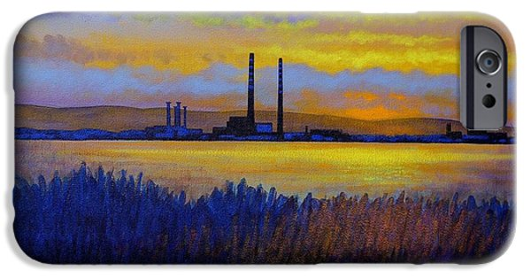 Board iPhone Cases - View From Clontarf - Dublin iPhone Case by John  Nolan