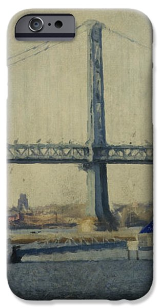 View From The Battleship iPhone Case by Trish Tritz