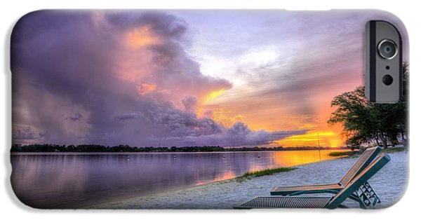 Florida Panhandle iPhone Cases - View to the Show iPhone Case by JC Findley