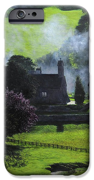 Village in North Wales iPhone Case by Harry Robertson