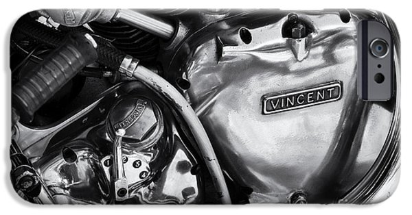 Polish Culture iPhone Cases - Vincent Engine Detail iPhone Case by Tim Gainey