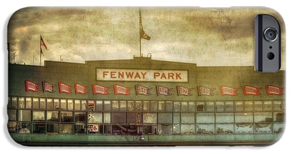 Boston Red Sox iPhone Cases - Vintage Fenway Park - Boston iPhone Case by Joann Vitali