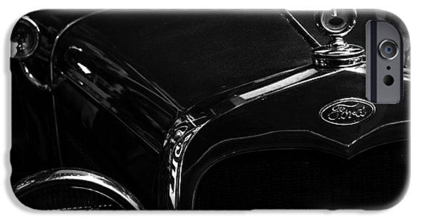 Stainless Steel iPhone Cases - Vintage Ford iPhone Case by Robert Yaeger