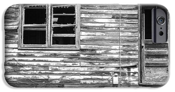 Historic Site iPhone Cases - Vintage Grain Elevator Window and Door iPhone Case by Donald  Erickson