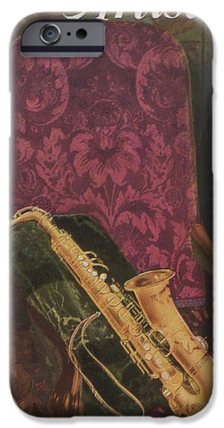 Furniture Drawings iPhone Cases - Vintage Poster iPhone Case by American School
