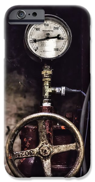 Vintage Wine Lovers Photographs iPhone Cases - Vintage Wine Making Gauges  iPhone Case by Nomad Art And  Design